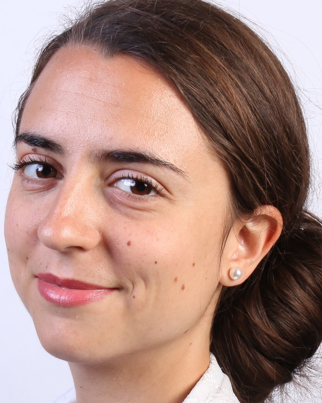 Close-up portrait of Luisa Seguin, PhD student in Linguistics